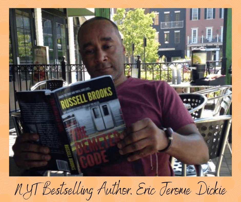 NYT Bestselling author Eric Jerome Dickie reads The Demeter Code