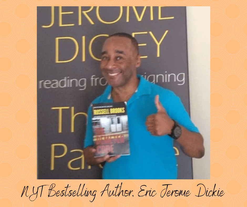 NYT Bestselling Author, Eric Jerome Dickie Thumbs Up to The Demeter Code by Russell Brooks